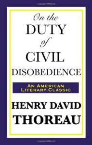 Henry David Thoreau Civil Disbobedience